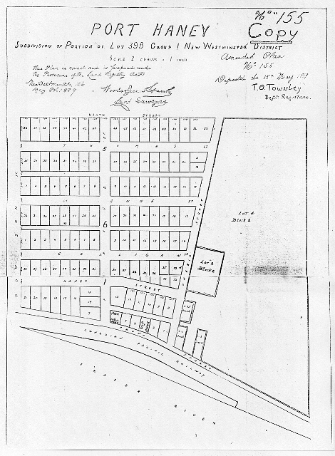 Port Haney townsite copy