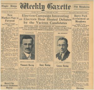 1937 election GAZ  1937-01-22 p1 [1]