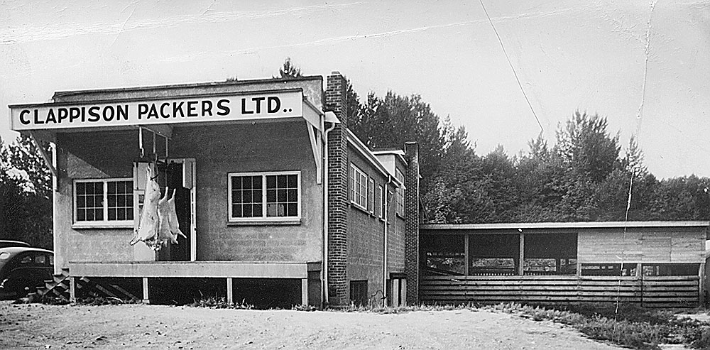 Clappison Packers, the business opened by Bill Clappison in the 1940s as the brothers diversified.