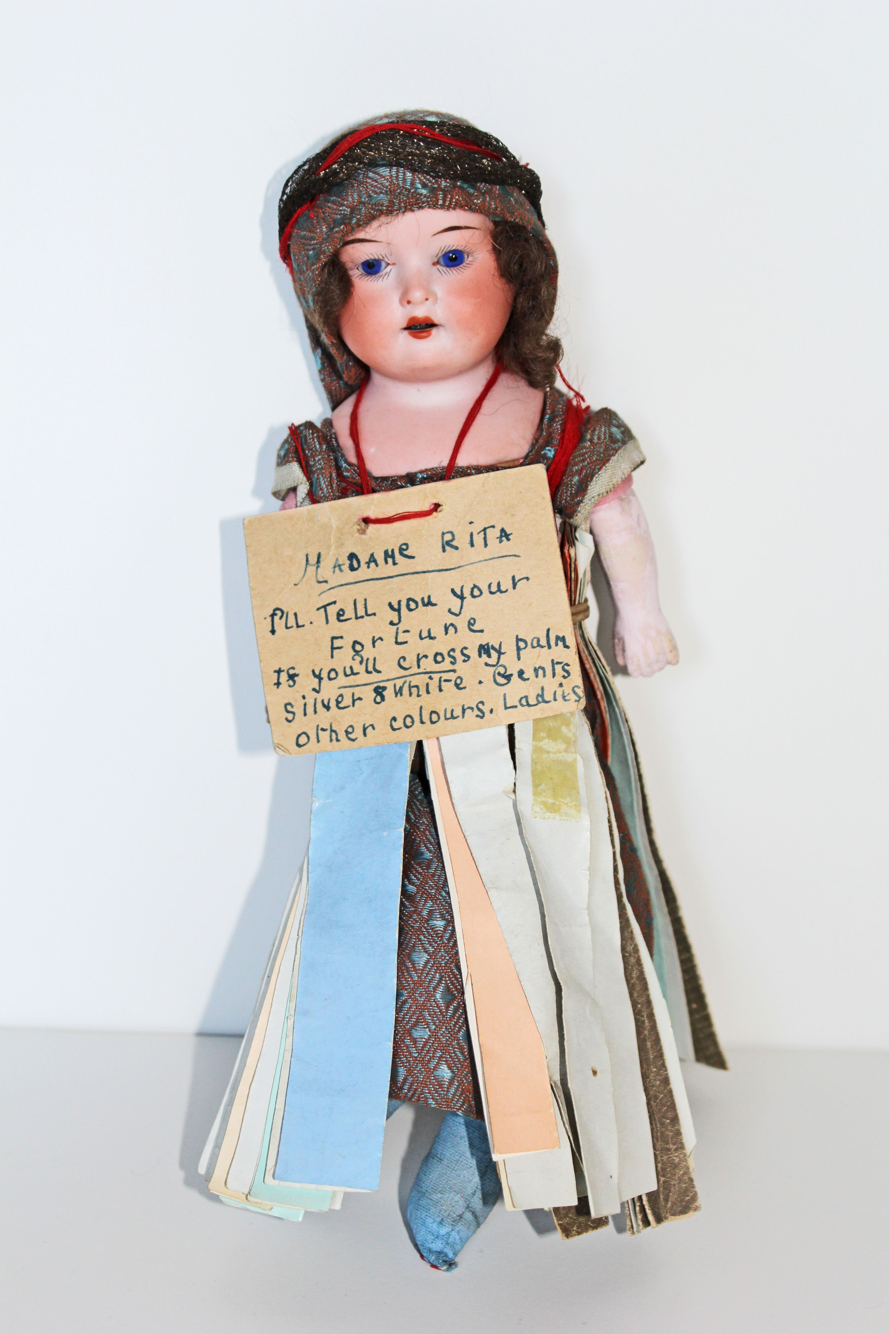 fortune teller doll maple ridge museum