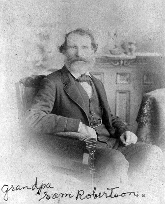 Samuel Robertson in about 1853.