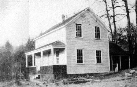 The Ritchie family home in Albion in the 1920's.