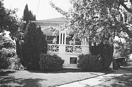 View of the Skytte house in 1978.  This house was built for the family by Victor Rossi, an esteemed local Finnish builder who also built Hill house.  Sadly, a reversal of fortunes only a few years later led to the sale of the house.