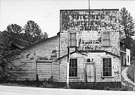 Ritchie's Store near the end of its days in 1974.