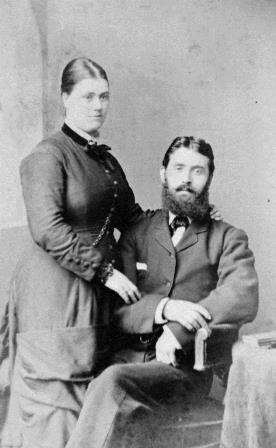 John Blaney and his wife circa 1895.