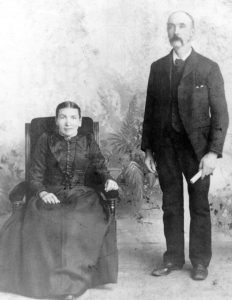 David and Isabella Dairon circa 1894.