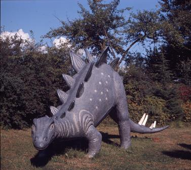 Dinosaur at Dyck's Park In July of 1969.