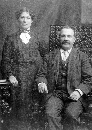 James and his wife Fanny Rolley in the early 1900's.
