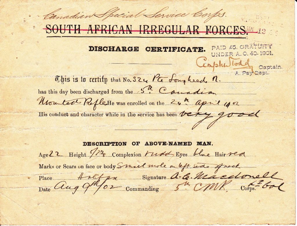 1902 Lougheed discharge cert sm
