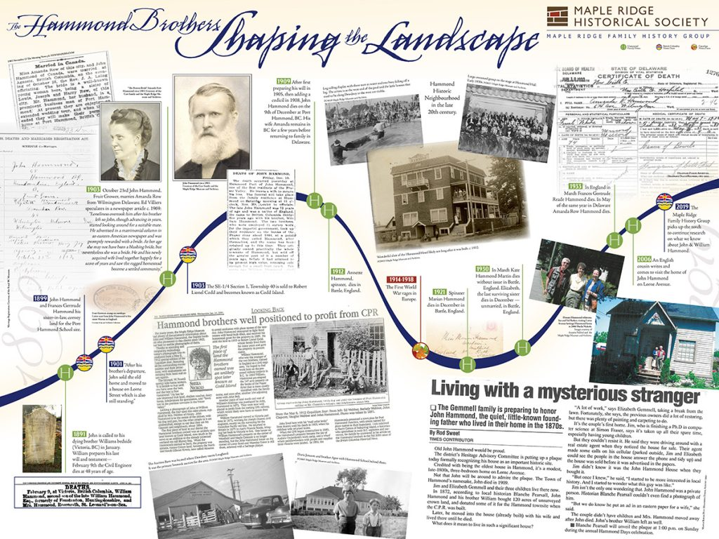 Hammond Brothers: Shaping the Landscape board 3
