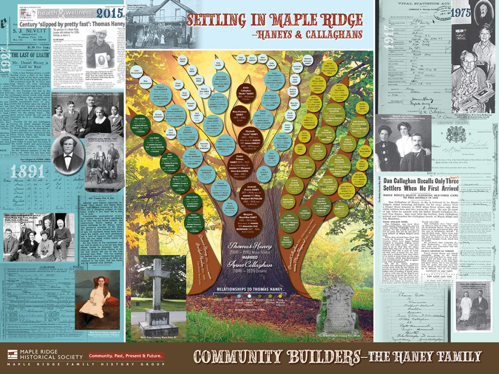 Community Builders: The Haney Family board 4