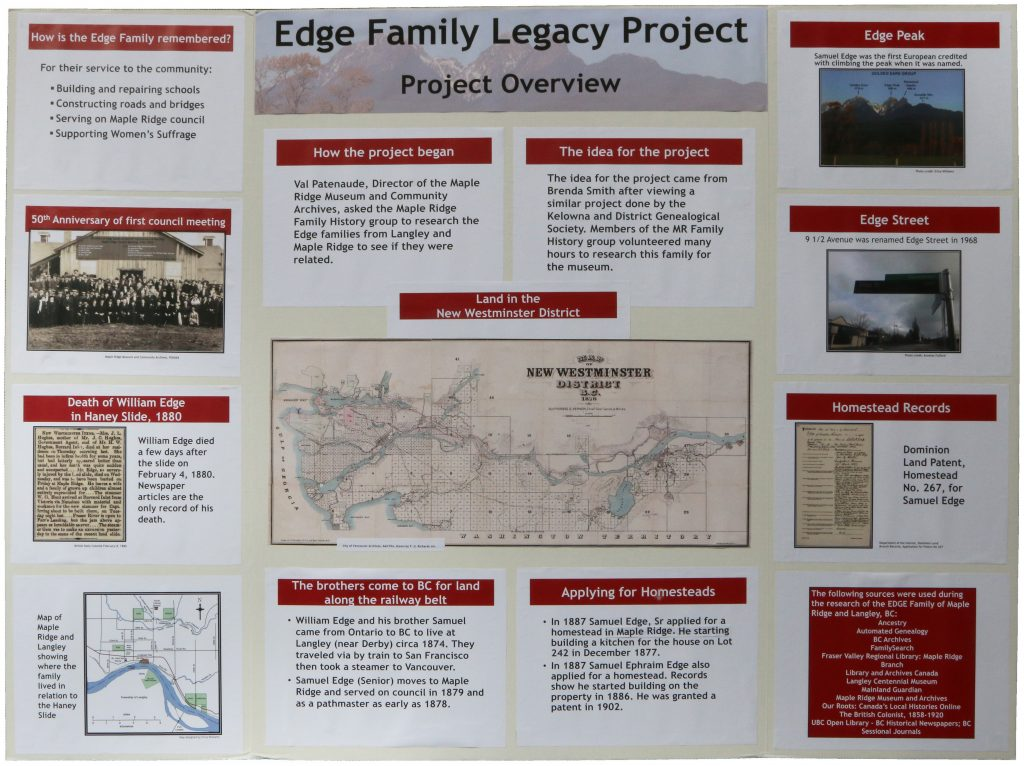 Edge Family Legacy Project Overview